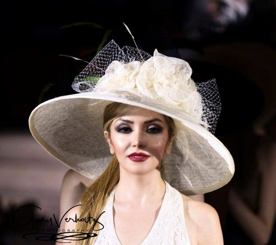 Collection 2017 Chapeau Designer Chapeau De Derby Du Etsy Chapeau Chapeaux Mariage Derby
