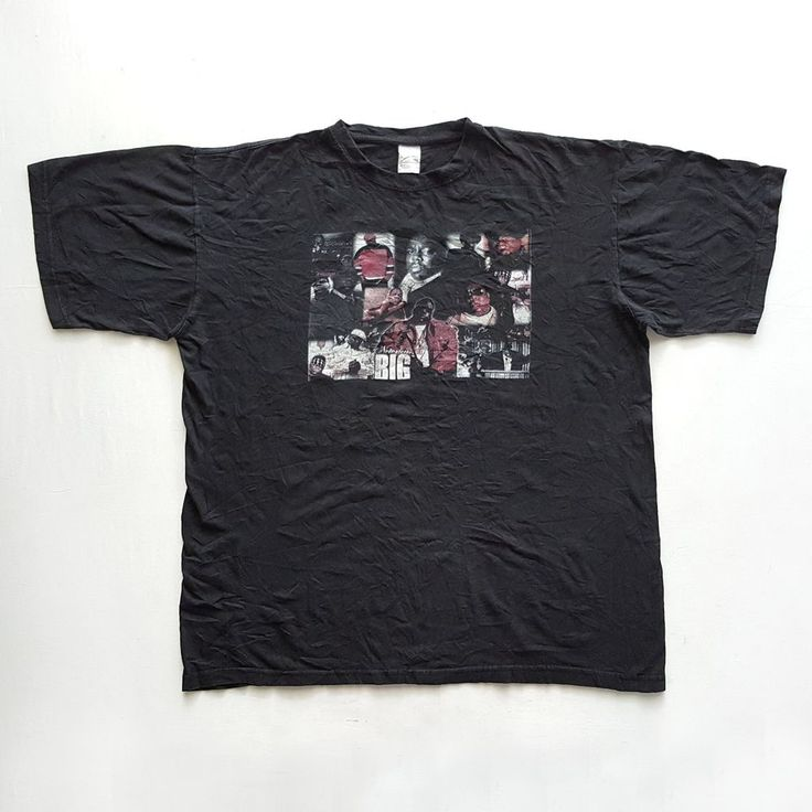 Vintage 90s Notorious BIG Biggie in Memorial of T-Shirt on VTG90s eBay Store!    https://www.ebay.com/itm/152765225932  #Vintage #90s #NotoriousBIG #Biggie #Poppa #InMemorialOf #T #Shirt #XL #2Pac #TuPac #Makaveli #Shakur #HipHop #Rap #RapTees #NWA #EazyE #IceCube #SnoopDogg #BoyzNdaHood #Rapper #WuTang #WuTangClan