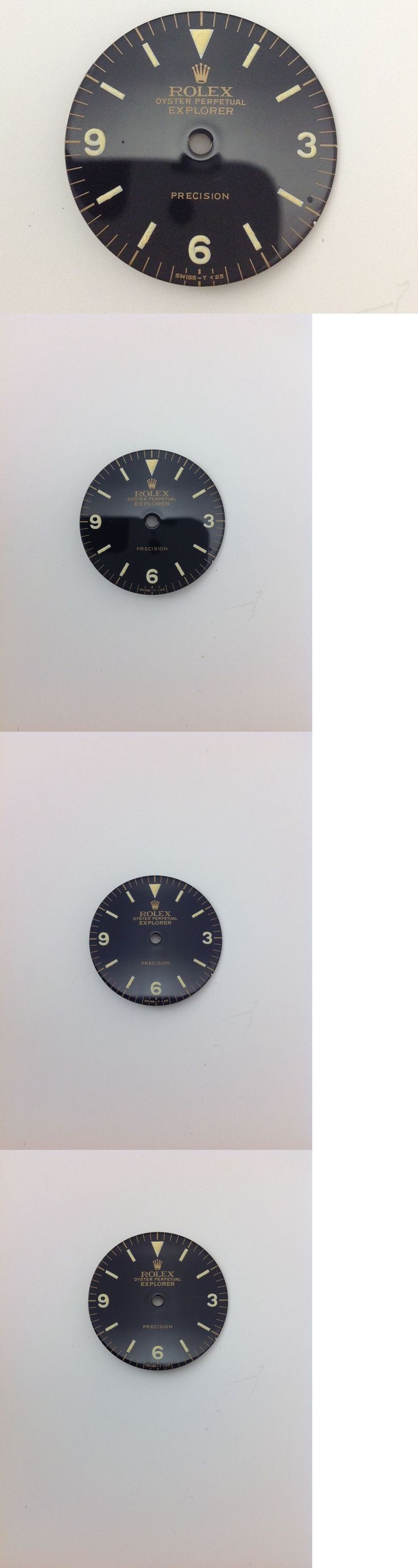 Other Watch Parts 10324: Vintage Rolex Tudor Explorer Dial -> BUY IT NOW ONLY: $199.99 on eBay!