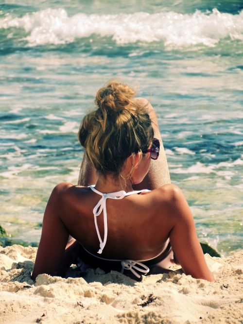 Babe. Sand. Waves.