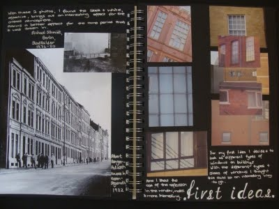 roberta's design blog: PHOTOGRAPHY SKETCHBOOK WORK