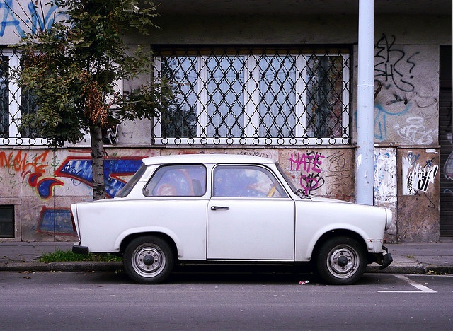 Budapest - Trabant 601.   (Photo by Austin '81. All Rights Reserved).