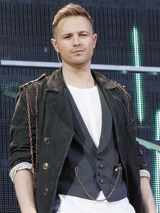 Nicky Byrne from Westlife performs at Croke Park on June 22, 2012 in Dublin, Ireland.