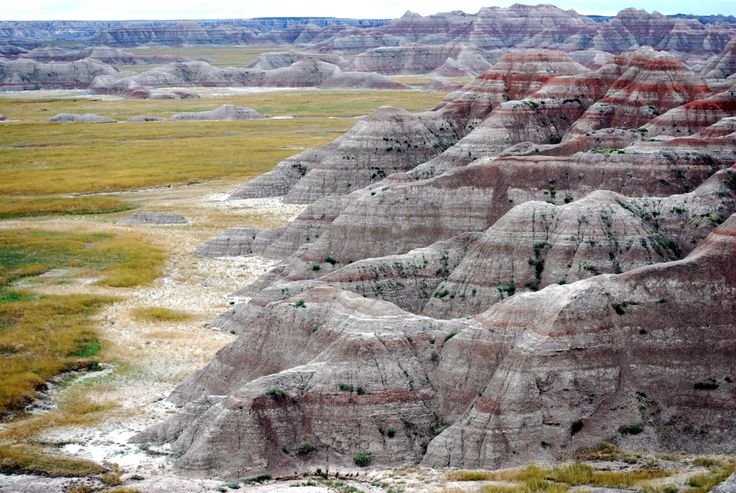 At Badlands, you'll find the world's richest fossil beds, but it's where the jagged peaks meet the sky that captures view-seekers.