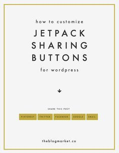 Customize Jetpack Sharing Buttons with CSS