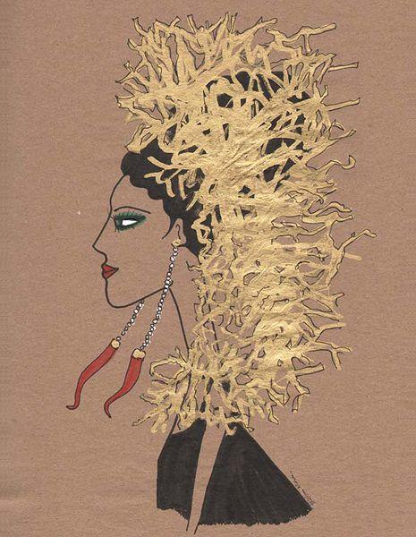 the golden capri girl by rebecca moses