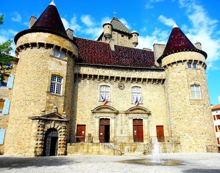Château d'Aubenas Ardeche France