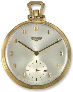 Longines 14k Gold Vintage Pocket Watch