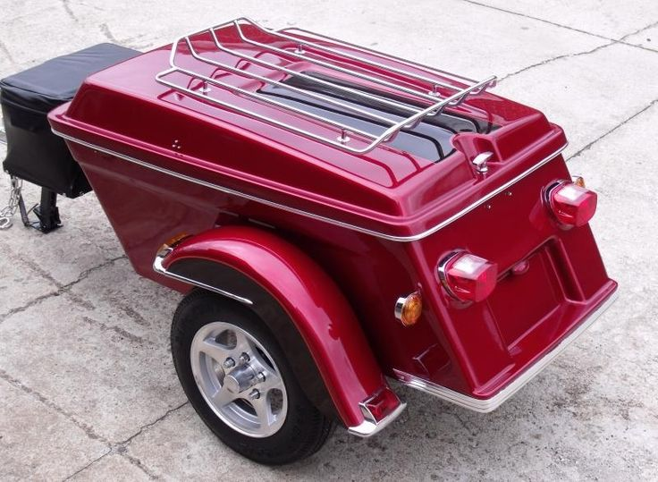 The 25 Best Pull Behind Motorcycle Trailer Ideas On