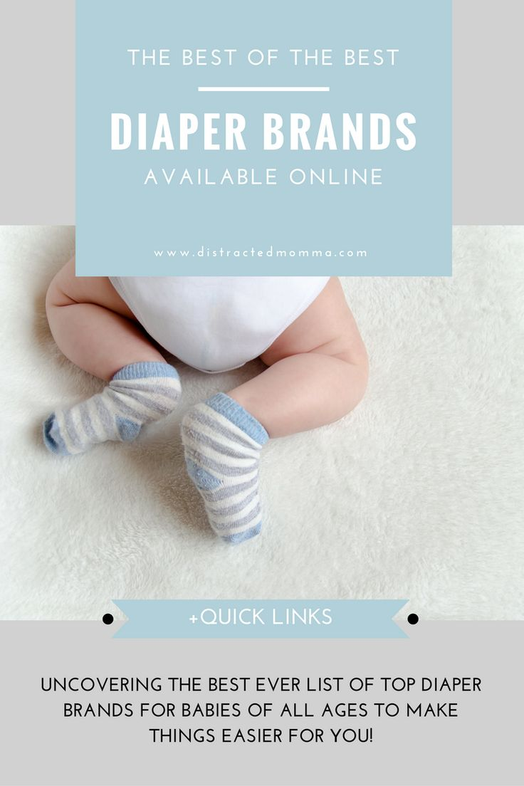 Time to uncover the best diaper brands for babies available online!