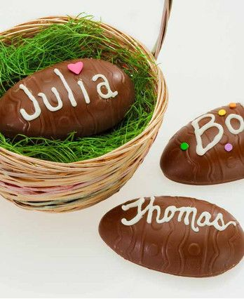 opened Chocolate Easter Eggs Creative 100 Images