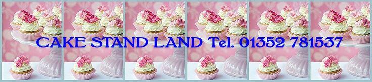vintage cake stands and vintage tea sets for sale UK