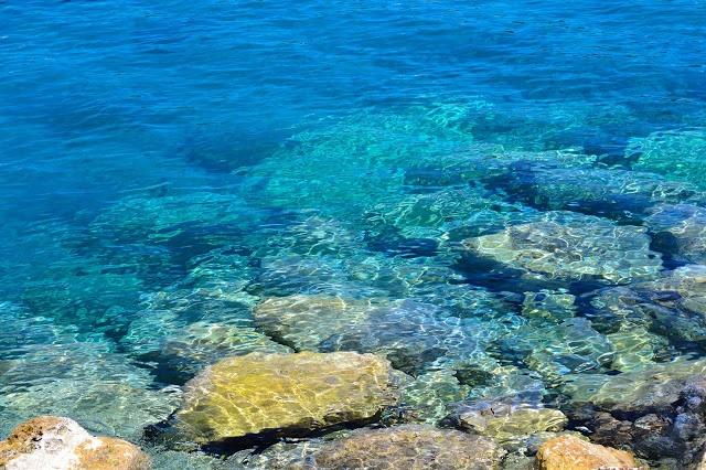 Sea in Paleokastritsa