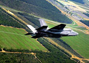 First F-35 Lightning Arrives at Eglin AFB - Eglin AFB FL