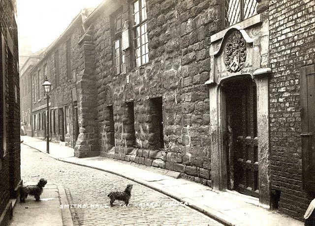 newcastle upon tyne england medieval | 012552:Blackfriars Newcastle upon Tyne around 1912. | Flickr - Photo ...