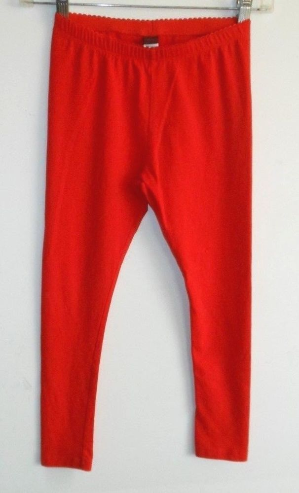 Tea, girl 8  Valentine red legging/stretch pants,elastic waist  | eBay