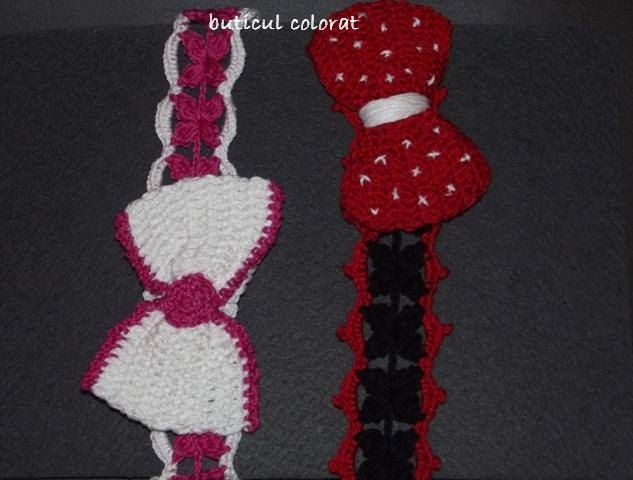 Crochet Hair Garland : Hair accesorie, crochet headband, hair wreath, bow, Disney characters ...
