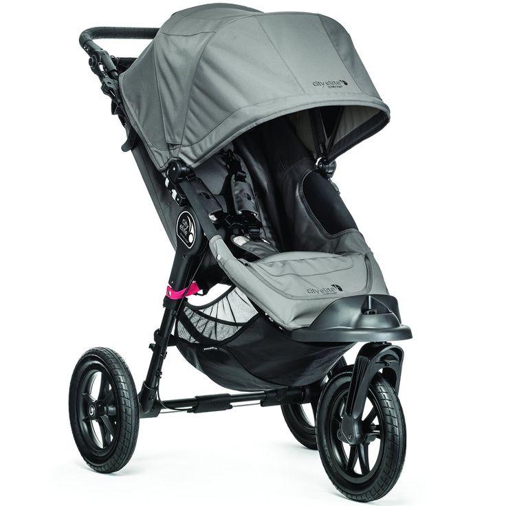 Baby Jogger 2014 City Elite Single - Gray