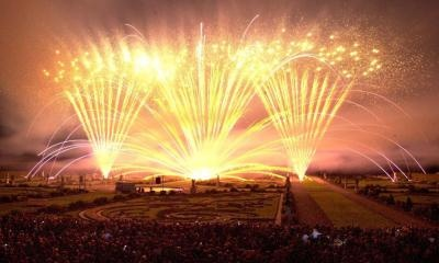 Annual International Fireworks Competition in the Royal Gardens of Hanover