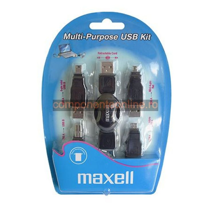 Kit adaptoare USB, Maxell - 402042