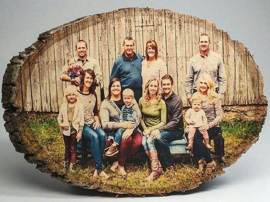 Изготовлю Ваше семейное фото на спиле дерева.