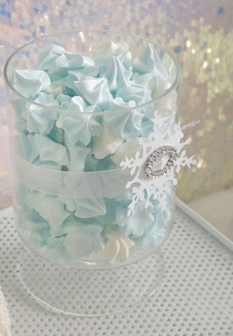 Frozen Meringue Drops~                                                    By Petit Posh on Facebook, Frozen Blue