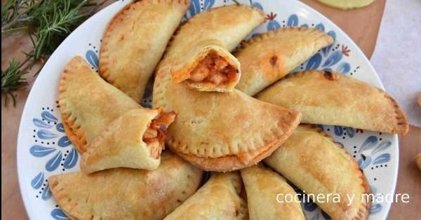 Empanadillas Caseras De Pollo Cocinera Y Madre Empanada De Pollo Recetas De Comida Comidas Ricas Y Faciles
