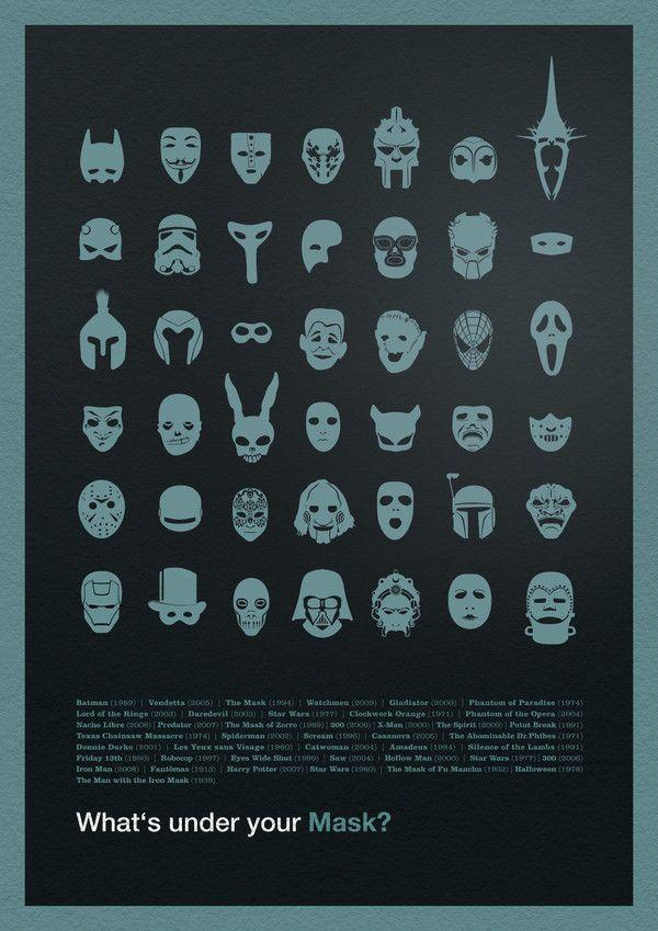 my masks...