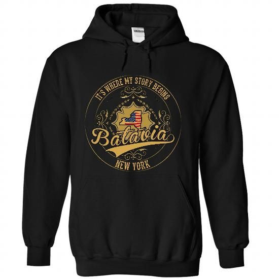 Batavia - New York Place Your Story Begin 0502 T-Shirts, Hoodies (39$ ==► BUY Now!)