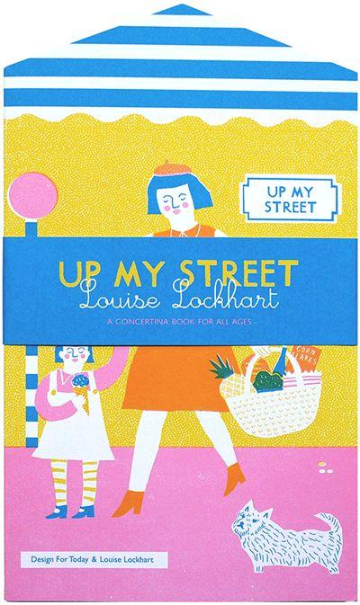 print & pattern blog - Louise lockhart's book 'up my street'