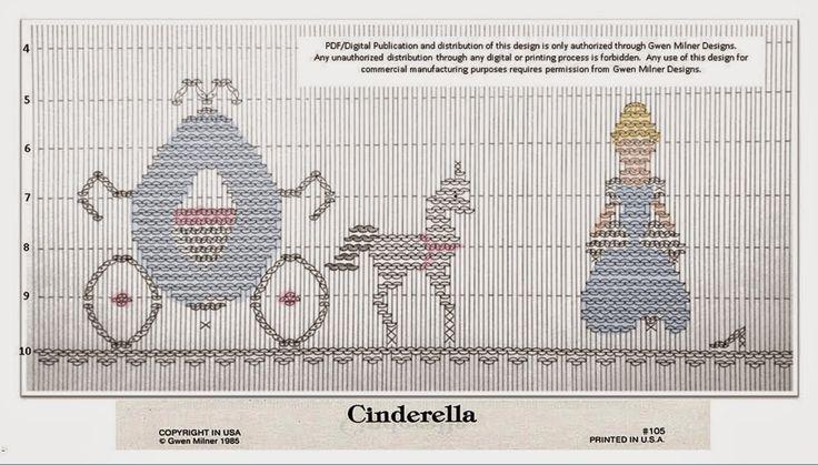 Smocking with Gwen: Sharing Cinderella.....Circa 1985