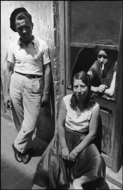 Henri Cartier-Bresson - SPAIN. Valencia Province. Alicante. 1933