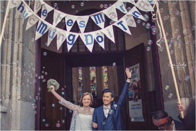 Un mariage en bleu et liberty : Margaux et Patrick