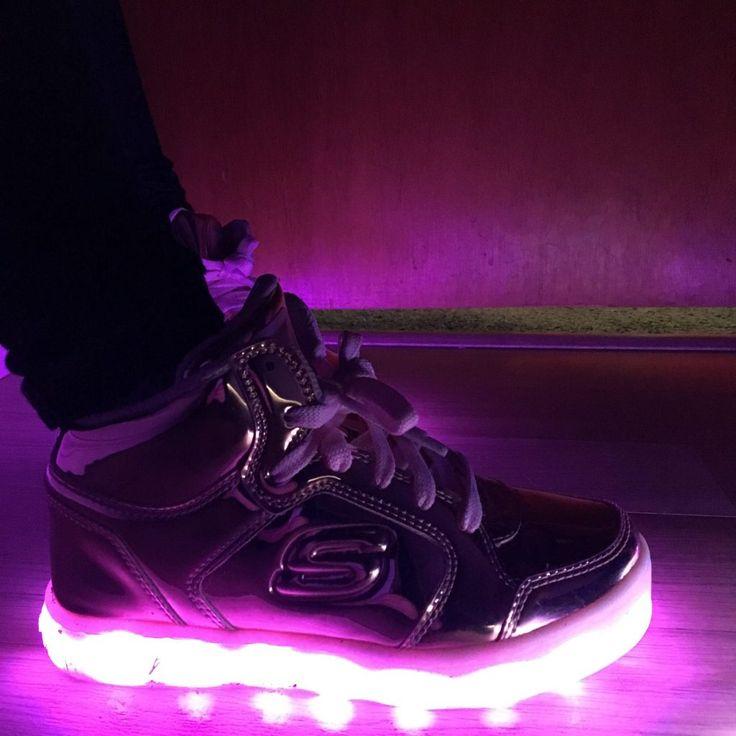 Skechers Energy Lights Lit Up