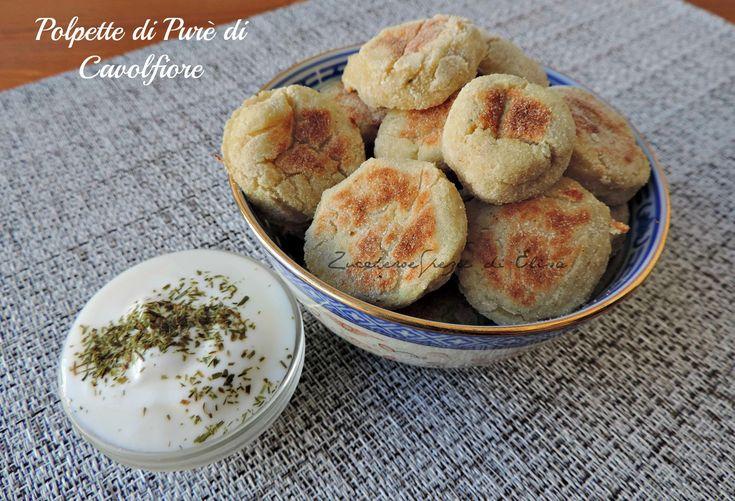Falafel di Cavolfiore con salsa allo yogurt