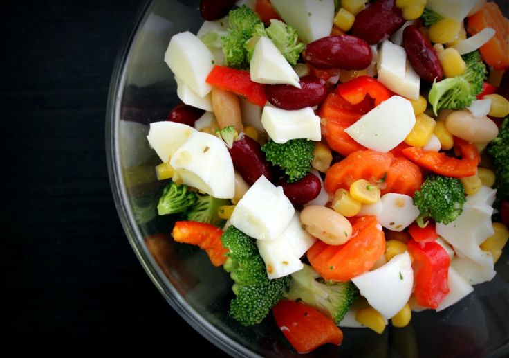 super simple egg white amp veggie salad courtesy of poorgirleatswell ...