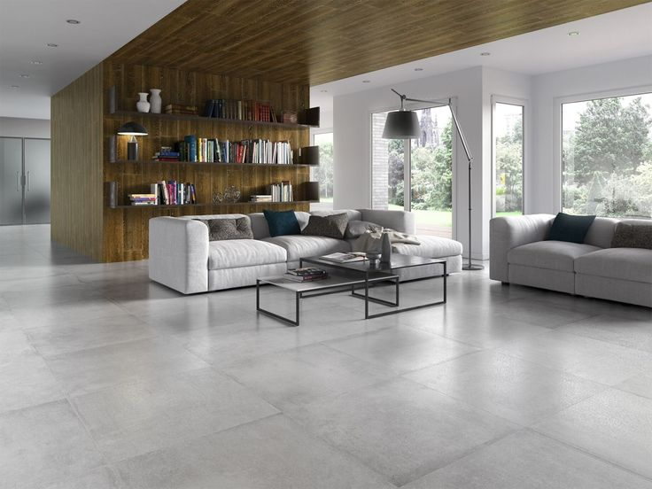 Porcelain floor tiles are also long-lasting and have a low degree of porosity and absorption. As for their decorative potential, there is a wide choice of finishes, making for multiple decorative trends. They are highly versatile floor coverings that can be used in all types of rooms. Porcelain floor tiles are also compatible with radiant floor heating and cooling systems. And last but not least, they are also extremely easy to care for and clean.