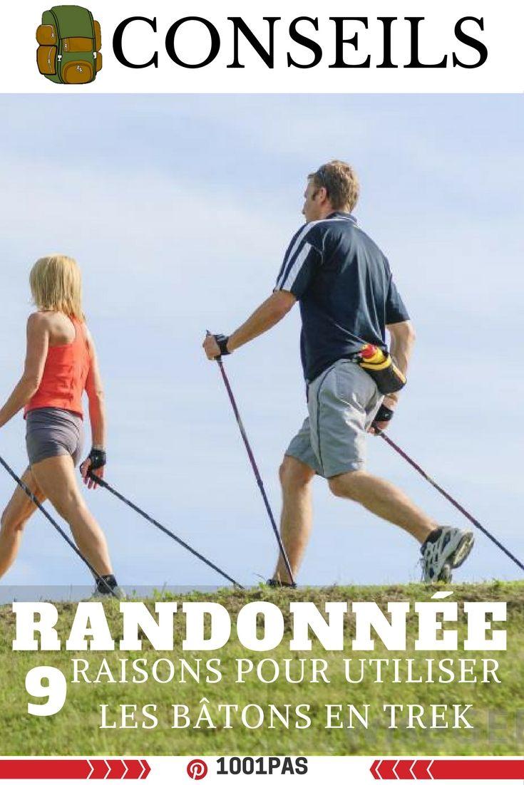 Pourquoi utiliser les batons de randonnée: Conseils pour utiliser les batons de randonnée --- utiliser batons de randonnee, pourquoi utiliser baton de randonnee, bonne utilisation baton de randonnee, se mettre a la randonnée avec des batons de randonnee