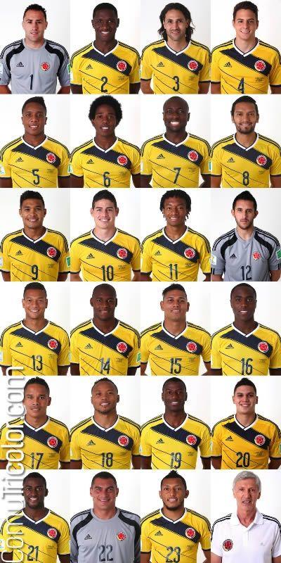 Selección Colombia 2014