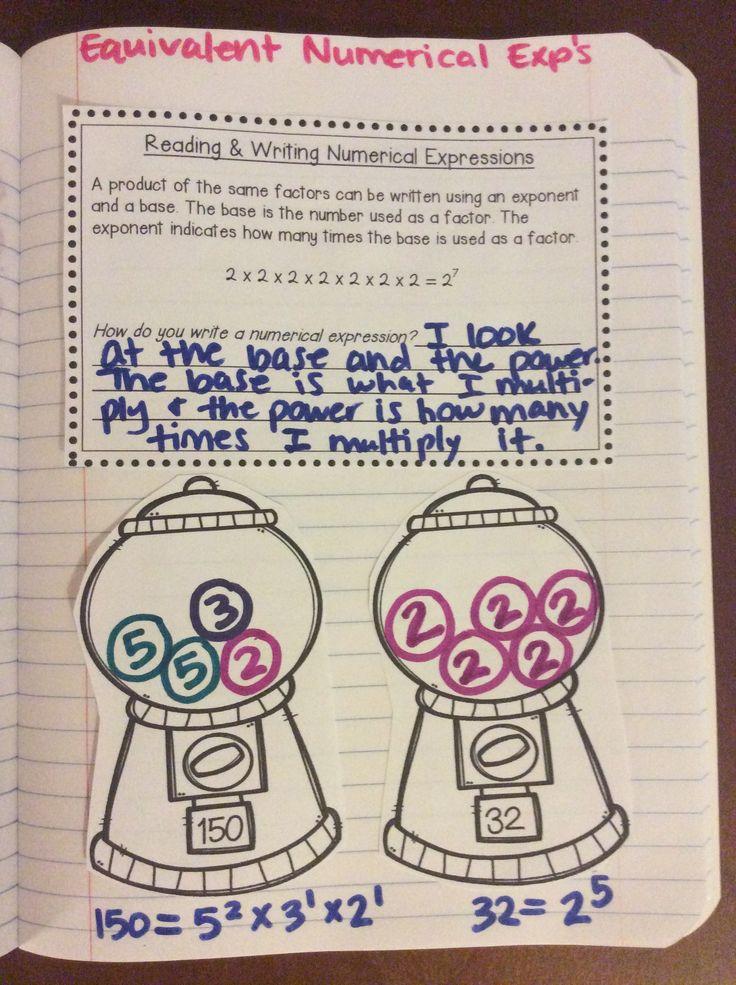 38 best Interactive Math Notebook images on Pinterest | Math ...