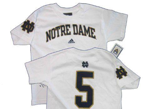 9b85ceffc ... Amazon.com Manti Teo Notre Dame Fighting Irish Youth White Jersey Name Fighting  Irish 5 ...