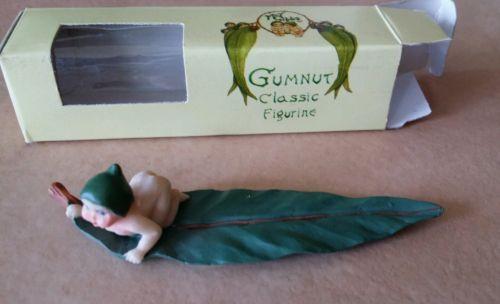 MAY GIBBS GUMNUT BABIES CERAMIC FIGURINE In original Box  Vintage New in Box