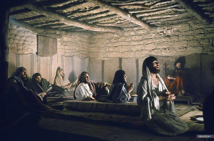 En el aposento alto.   Jesús de Nazaret   Jesus christ ...