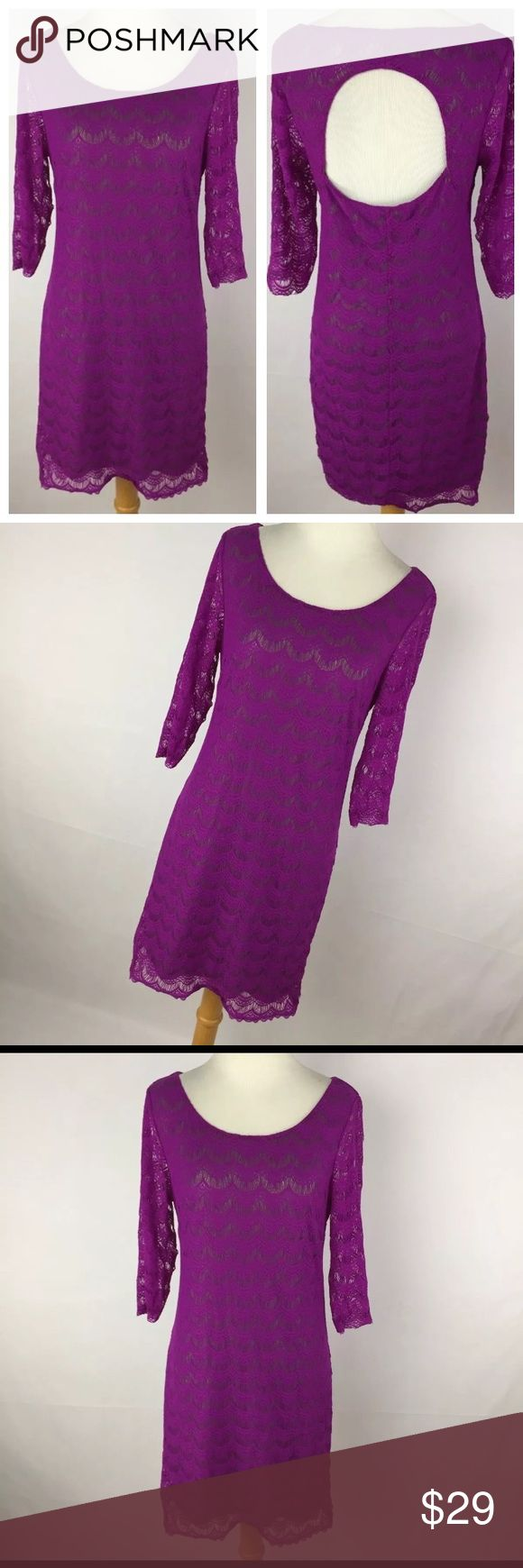 The 25 best length measurement ideas on pinterest measurement free people m med dress purple lace mesh gray gold robcynllc Choice Image