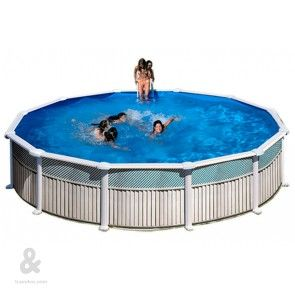 61 best ideas about piscinas montables de acero on for Funda piscina redonda