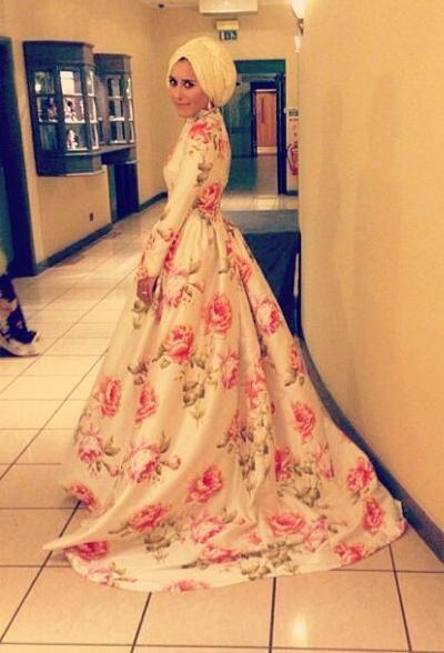 Dina Tokio wedding attire
