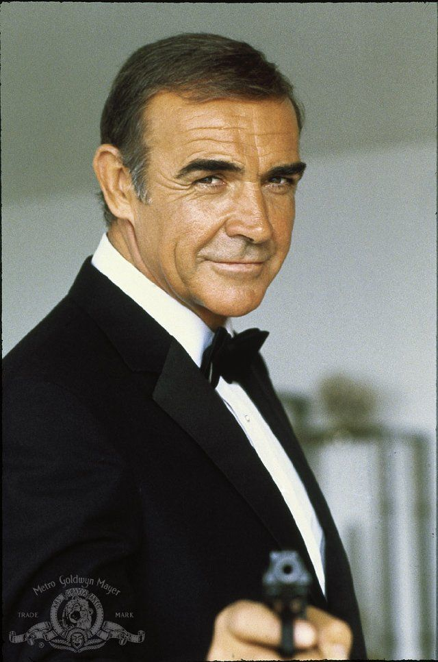 Still of Sean Connery in Never Say Never Again. Well he was the ultimate Bond and despite his age, and recent pics, he is just so hummy......