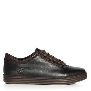 UK Polo Club 75004 Erkek Spor Ayakkabı Siyah Kahve