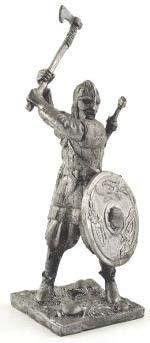 Викинг, 10 век   Оловянная история
