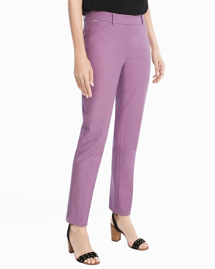 Body-Defining Ankle-Grazing Pants